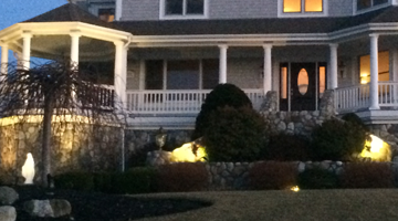 Outdoor Lighting Design Landscape | Scituate, MA Holiday Lights