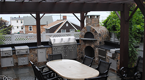 Outdoor Kitchens & Rooms Landscape Design| Scituate, MA