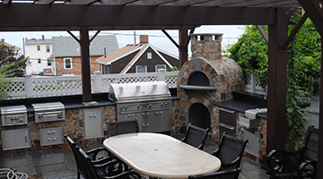 outdoor kitchen Design and Construction south shore
