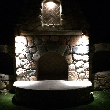 outdoor lighting and Landscape hingham, ma