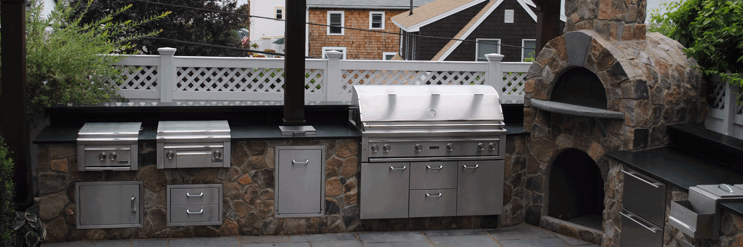 weymouth custom outdoor kitchens