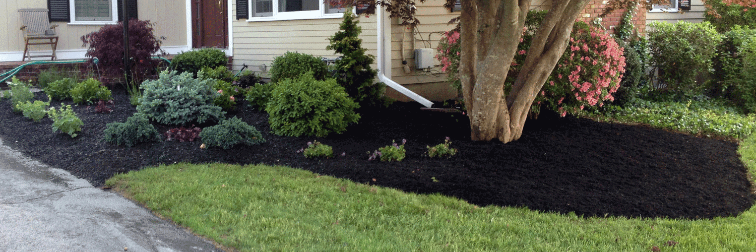 Residential landscape services landscaping scituate ma for Installing river rock landscaping