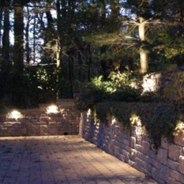 Outdoor lighting design landscape scituate ma holiday lights landscape wall lighting designers hingham mozeypictures Image collections